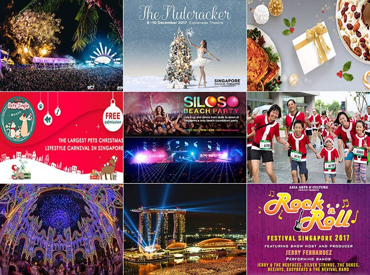10 Events in Singapore to Enjoy Christmas Season to The Fullest